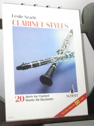 Searle L - Clarinet Styles - 20 Duets for Clarinet